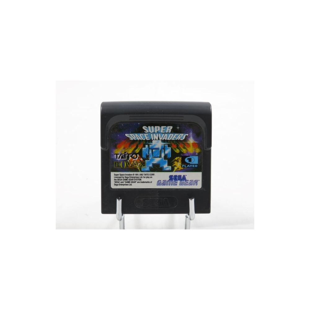 SUPER SPACE INVADERS GAME GEAR EURO LOOSE