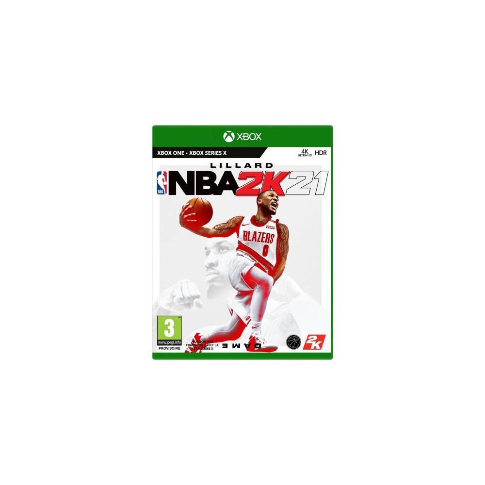 NBA 2K21 XBOX ONE FR OCCASION