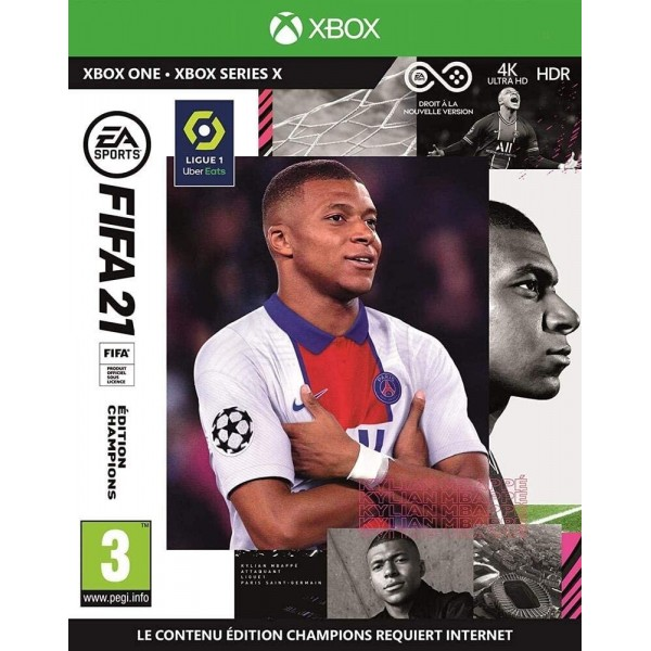 FIFA 21 CHAMPIONS EDITION XBOX ONE UK NEW