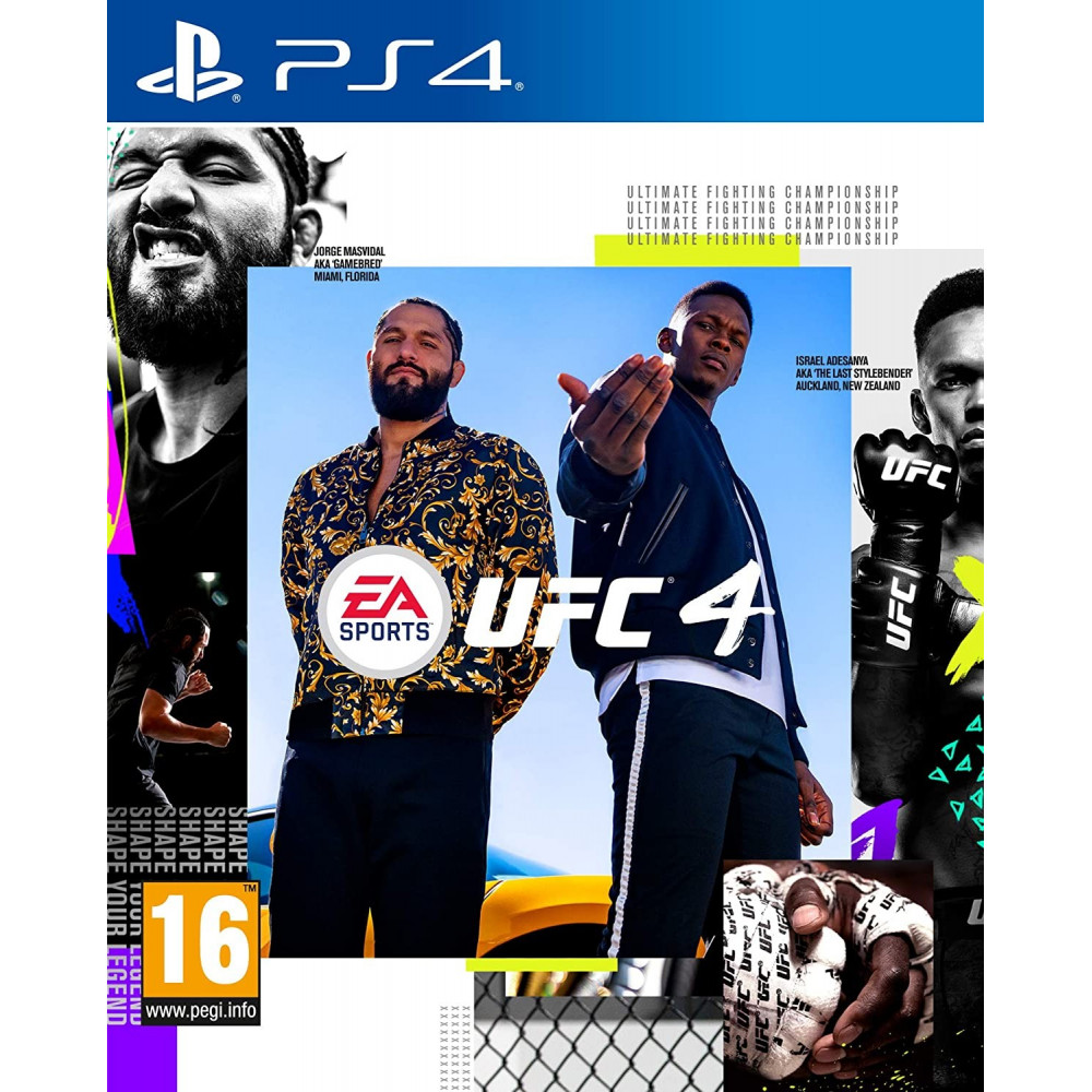 UFC 4 PS4 UK NEW