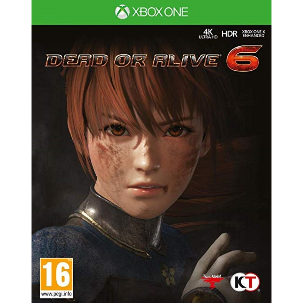 DEAD OR ALIVE 6 XBOX ONE FR OCCASION