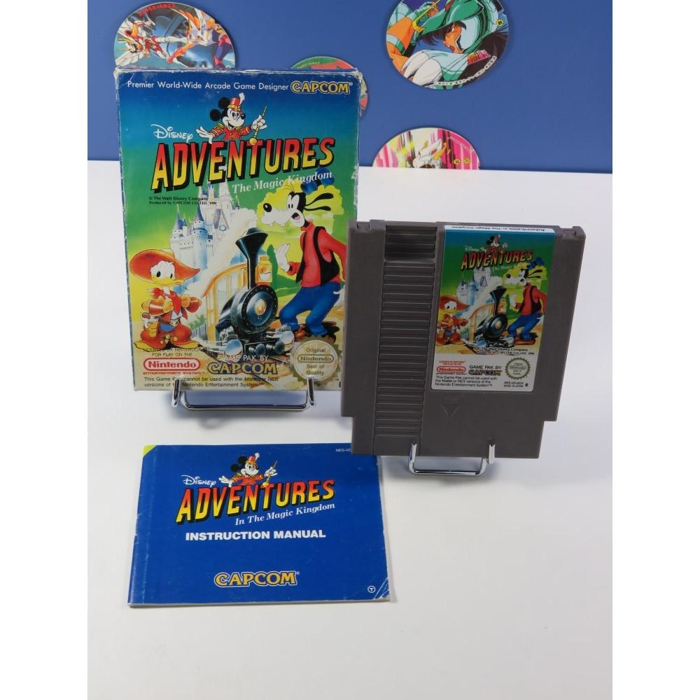 DISNEY ADVENTURES - THE MAGIC KINGDOM NINTENDO (NES) PAL-B (COMPLET - GOOD CONDITION)