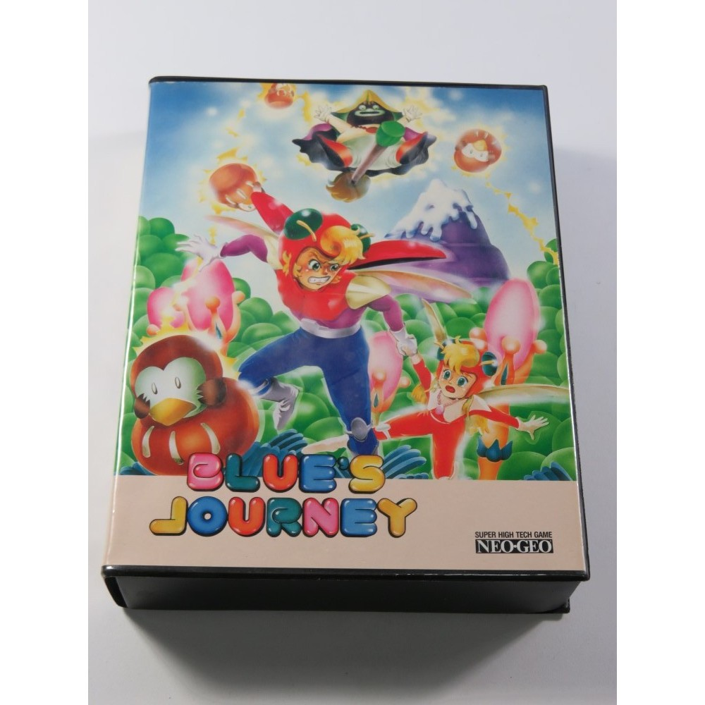 BLUE S JOURNEY SNK NEO GEO AES EURO (COMPLET - GOOD CONDITION)
