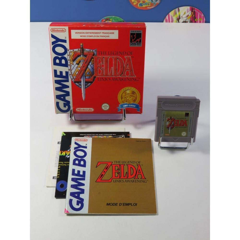 THE LEGEND OF ZELDA LINK S AWAKENING SERIE CLASSIC GAMEBOY (GB) FRA (COMPLET - GOOD CONDITION)
