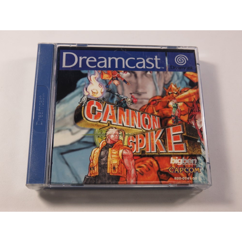 CANNON SPIKE SEGA DREAMCAST PAL-EURO (COMPLET - GOOD CONDITION) (PSIKYO - RUN AND GUN)