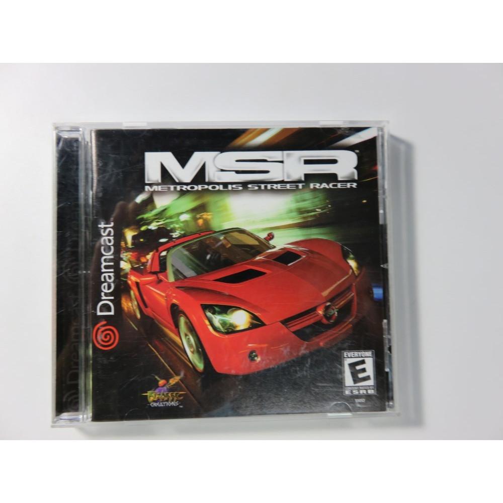 MSR METROPOLIS STREET RACER DREAMCAST NTSC-USA OCCASION