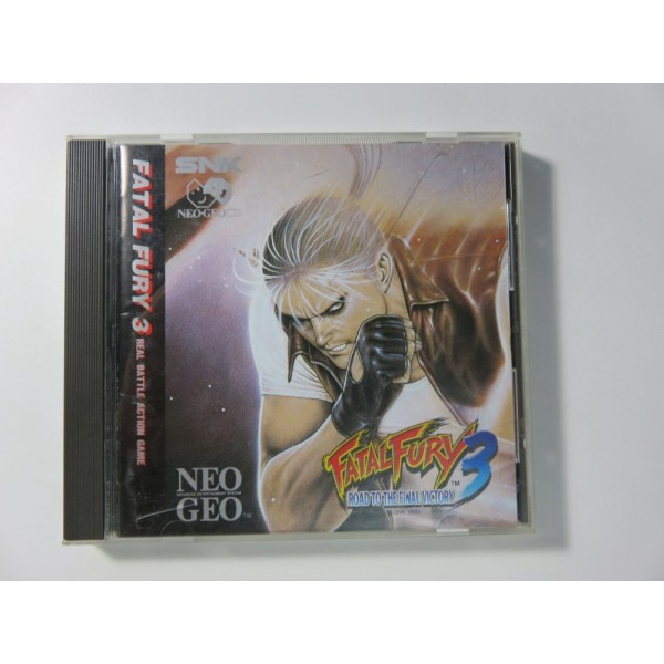 FATAL FURY 3 NEO GEO CD USA OCCASION