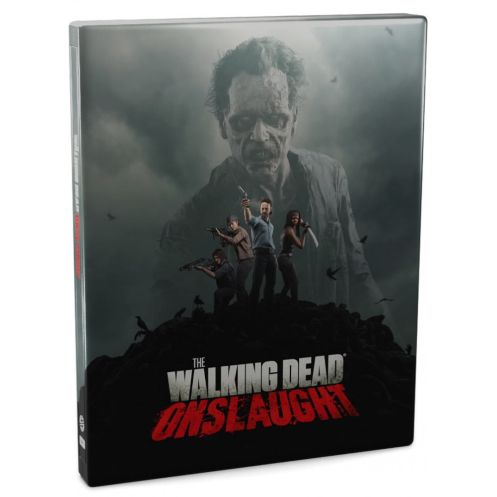 THE WALKING DEAD ONSLAUGHT SURVIVOR EDITION PSVR PS4 FR NEW