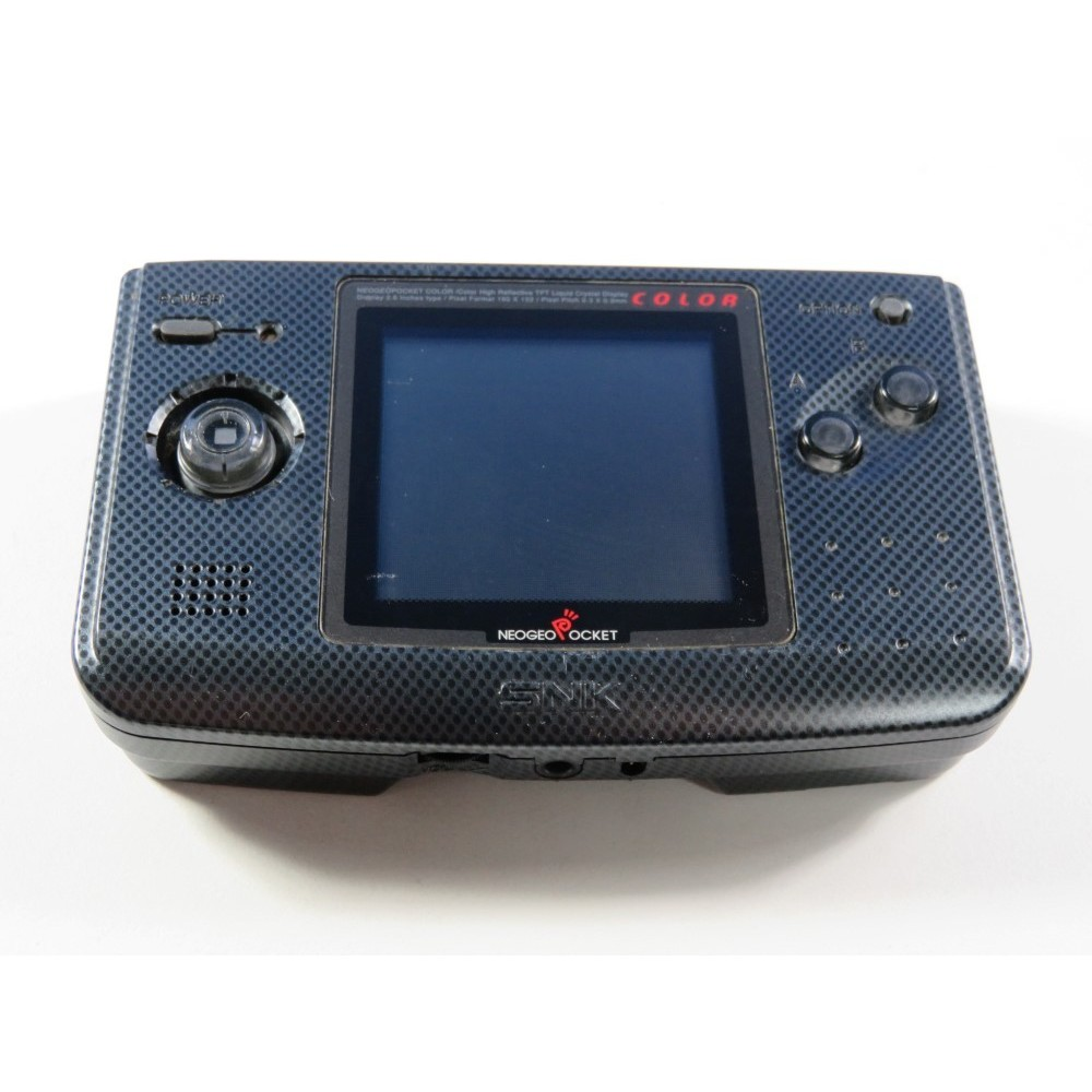 CONSOLE SNK NEO GEO POCKET COLOR ANTHRACITE EURO (LOOSE - GOOD CONDITION) (SERIAL: 0343462)