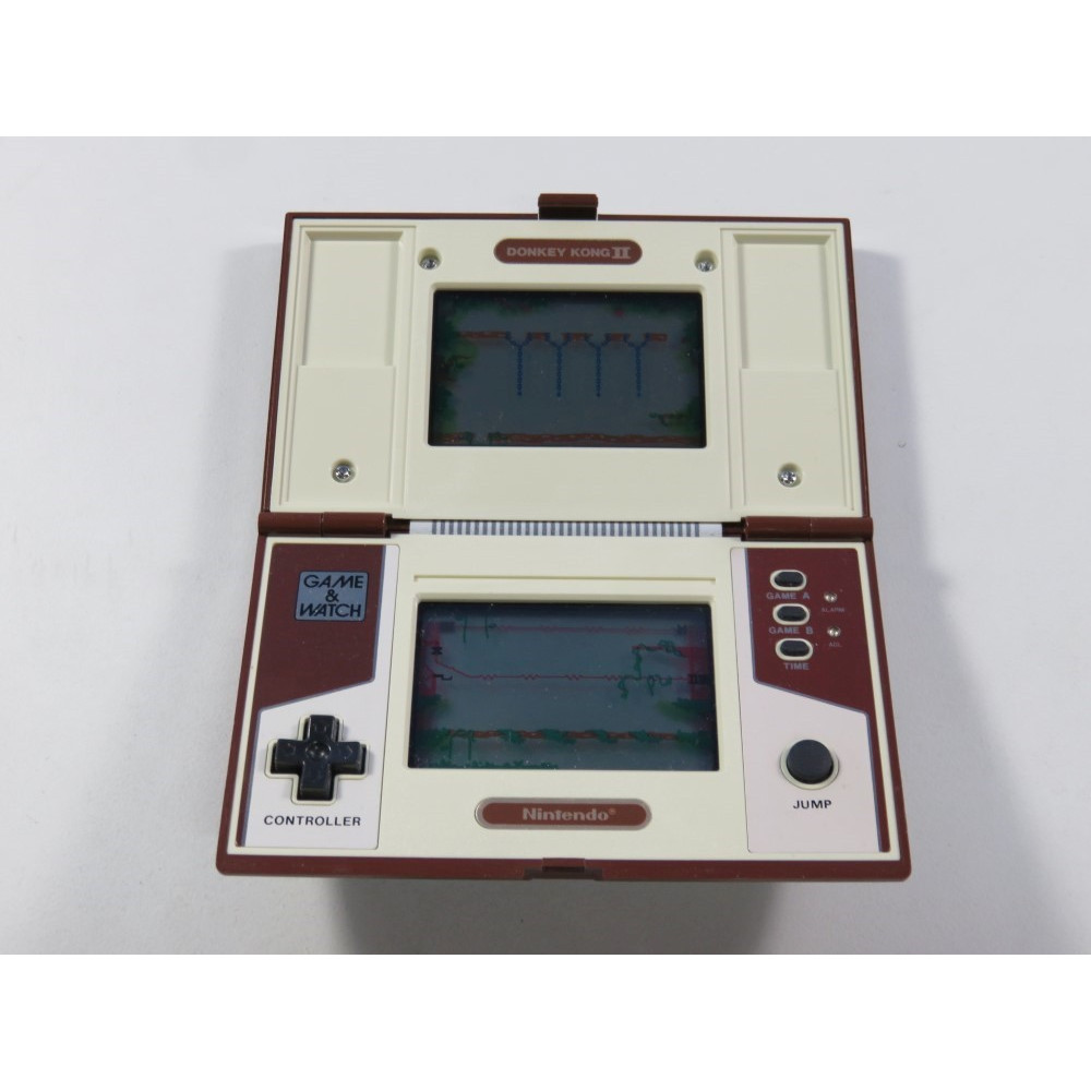 GAME & WATCH NINTENDO MULTI SCREEN DONKEY KONG II MODEL NO: JR-55 (LOOSE - VERY GOOD CONDITION)(SERIAL 46113268)