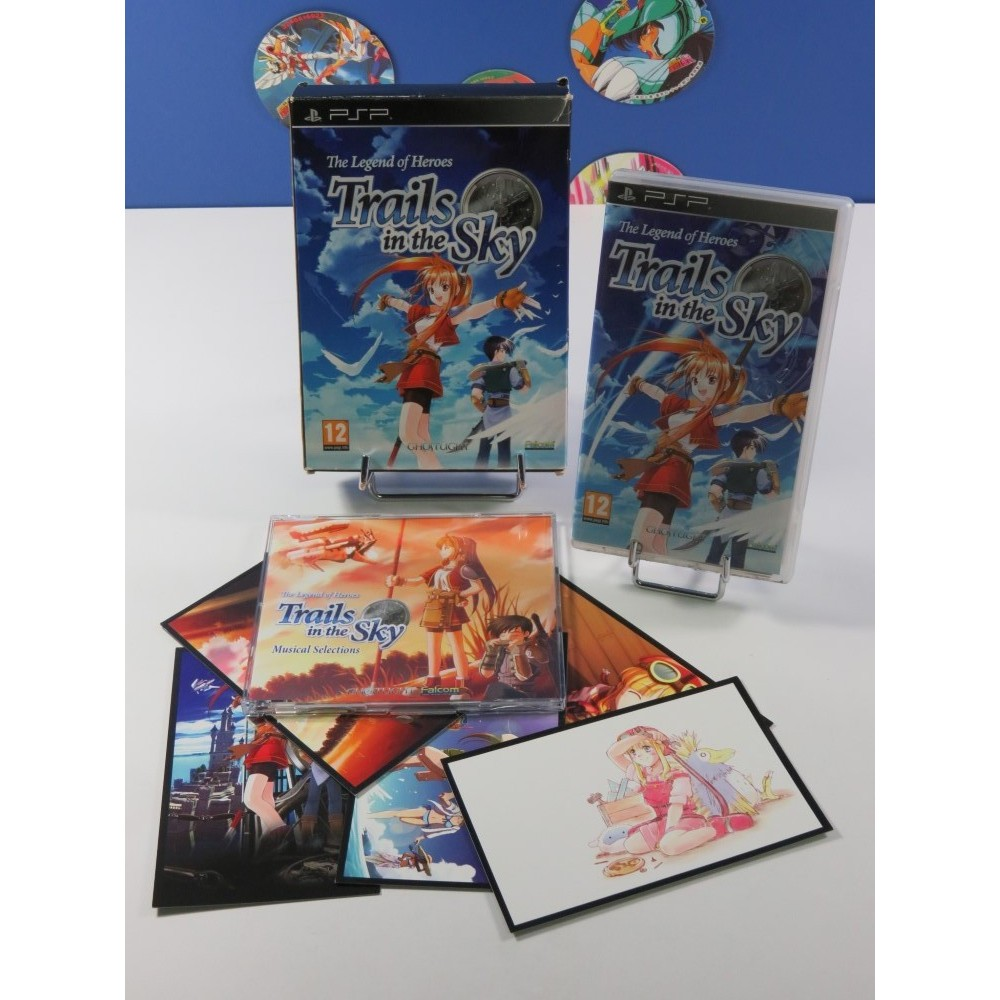 THE LEGEND OF HEROES - TRAILS IN THE SKY EDITION COLLECTOR SONY PSP EURO (COMPLET - GOOD CONDITION)