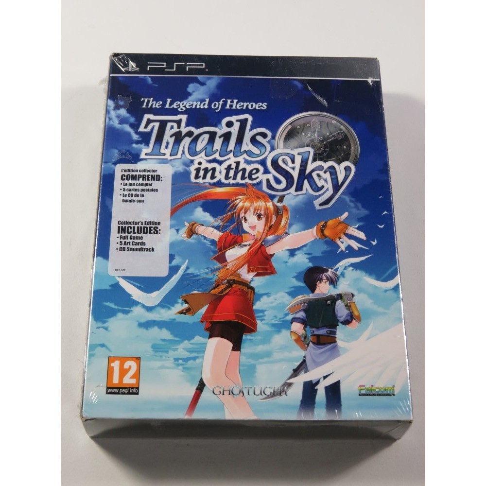 THE LEGEND OF HEROES - TRAILS IN THE SKY EDITION COLLECTOR SONY PSP EURO NEUF - BRAND NEW