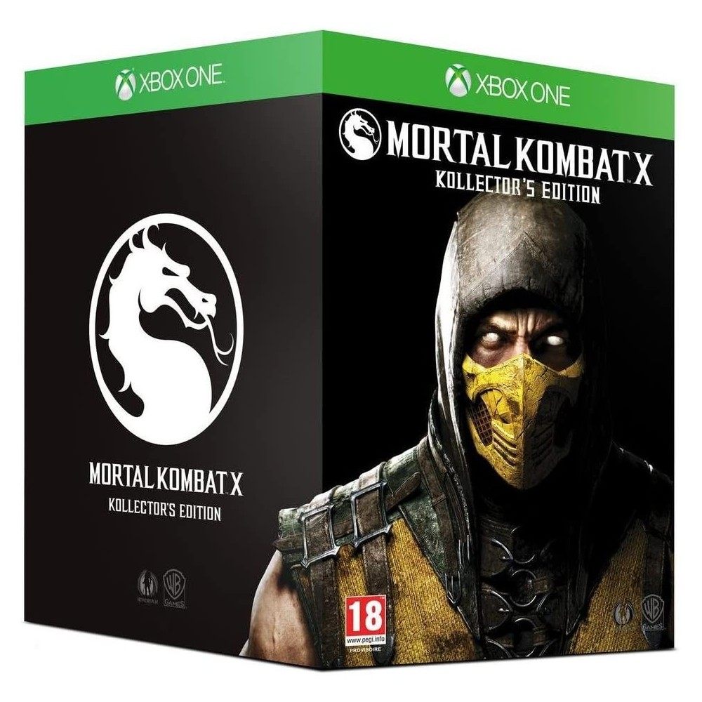 MORTAL KOMBAT X COLLECTOR XBOX ONE FR NEW