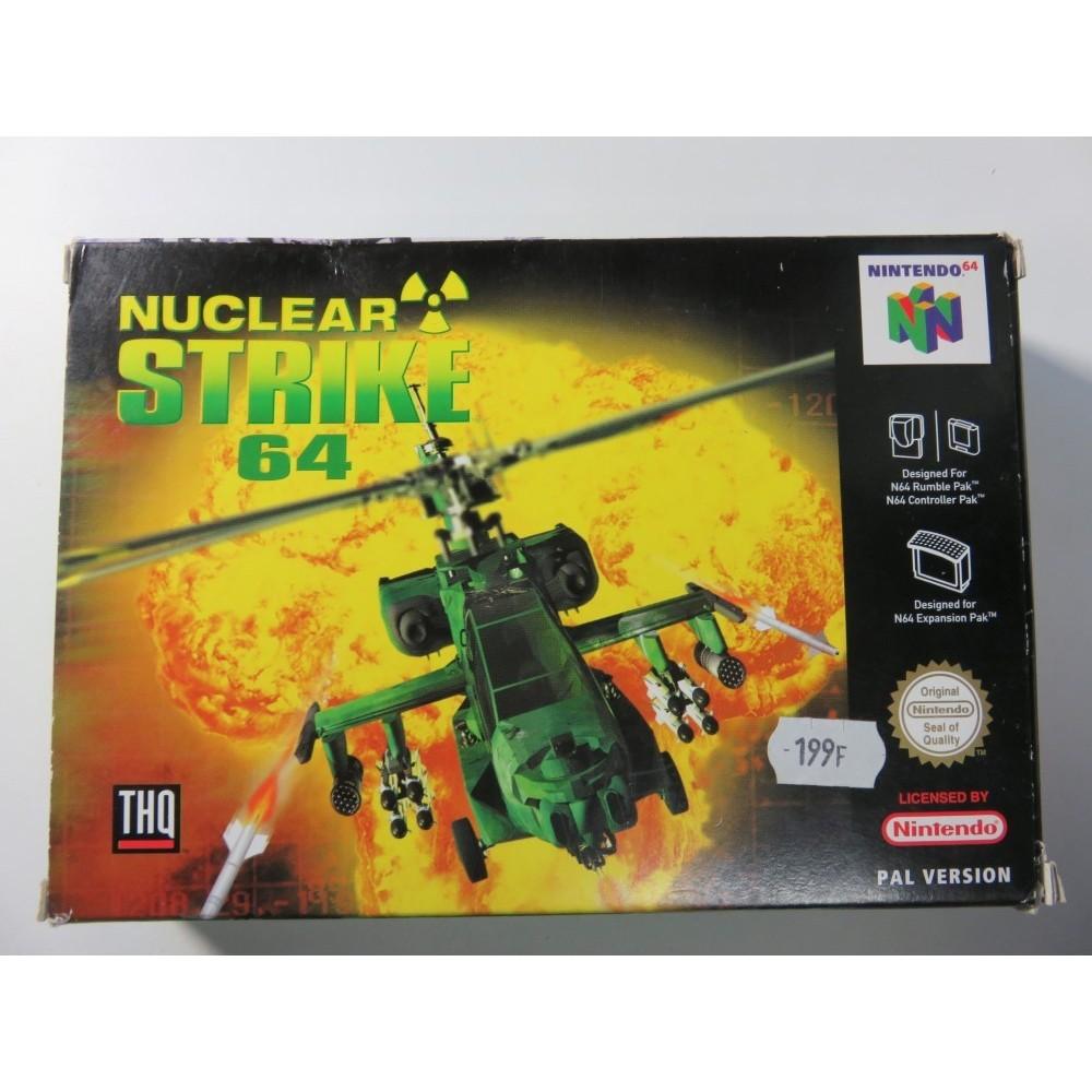 NUCLEAR STRIKE 64 NINTENDO 64 PAL-EUR (SANS NOTICE) OCCASION