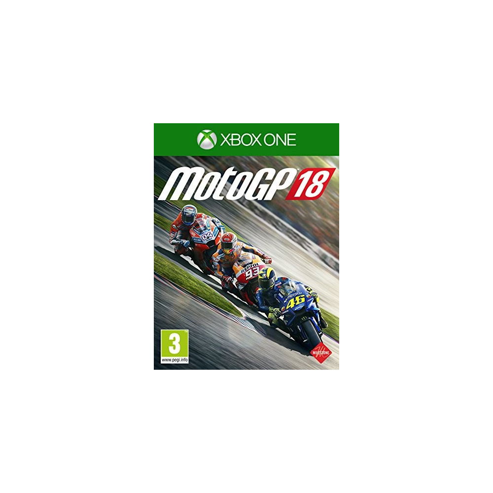 MOTO GP 18 XBOX ONE UK OCCASION