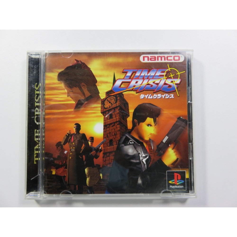 TIME CRISIS PS1 NTSC-JPN OCCASION
