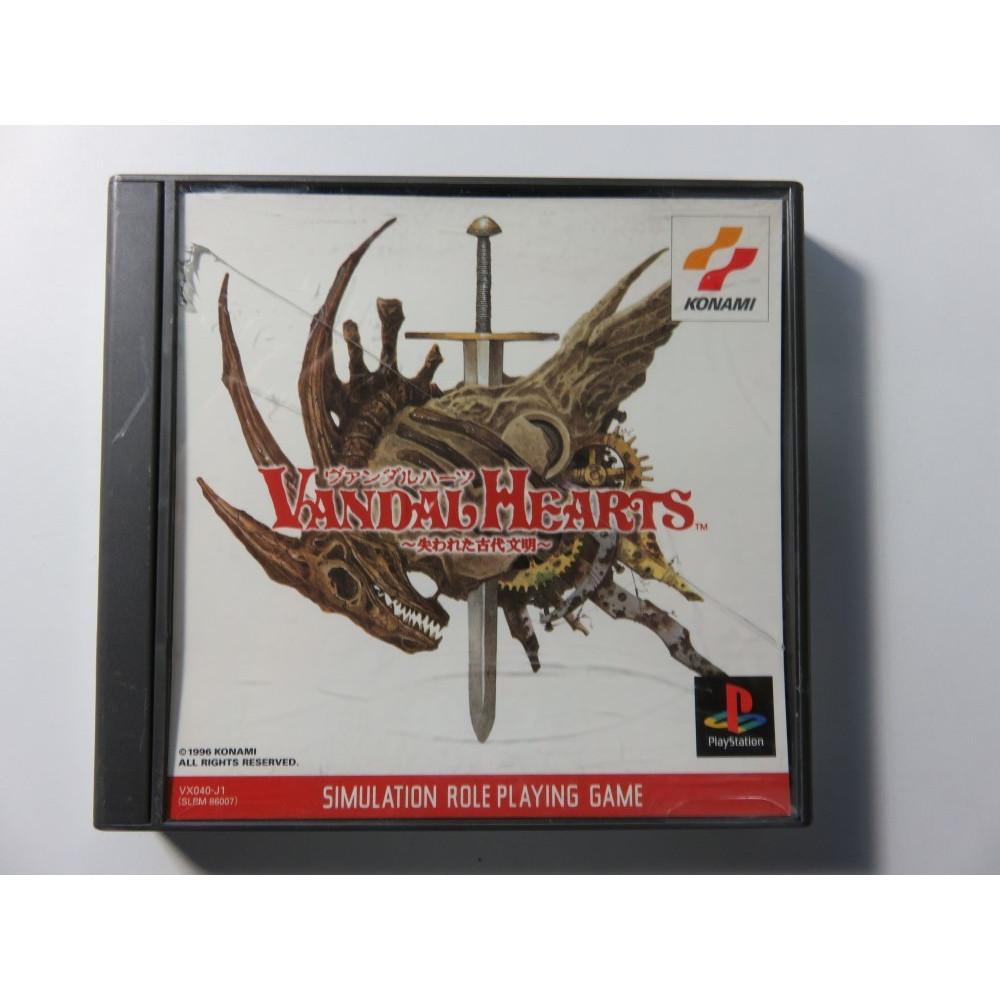 VANDAL HEARTS PS1 NTSC-JPN OCCASION (TACTICAL RPG)