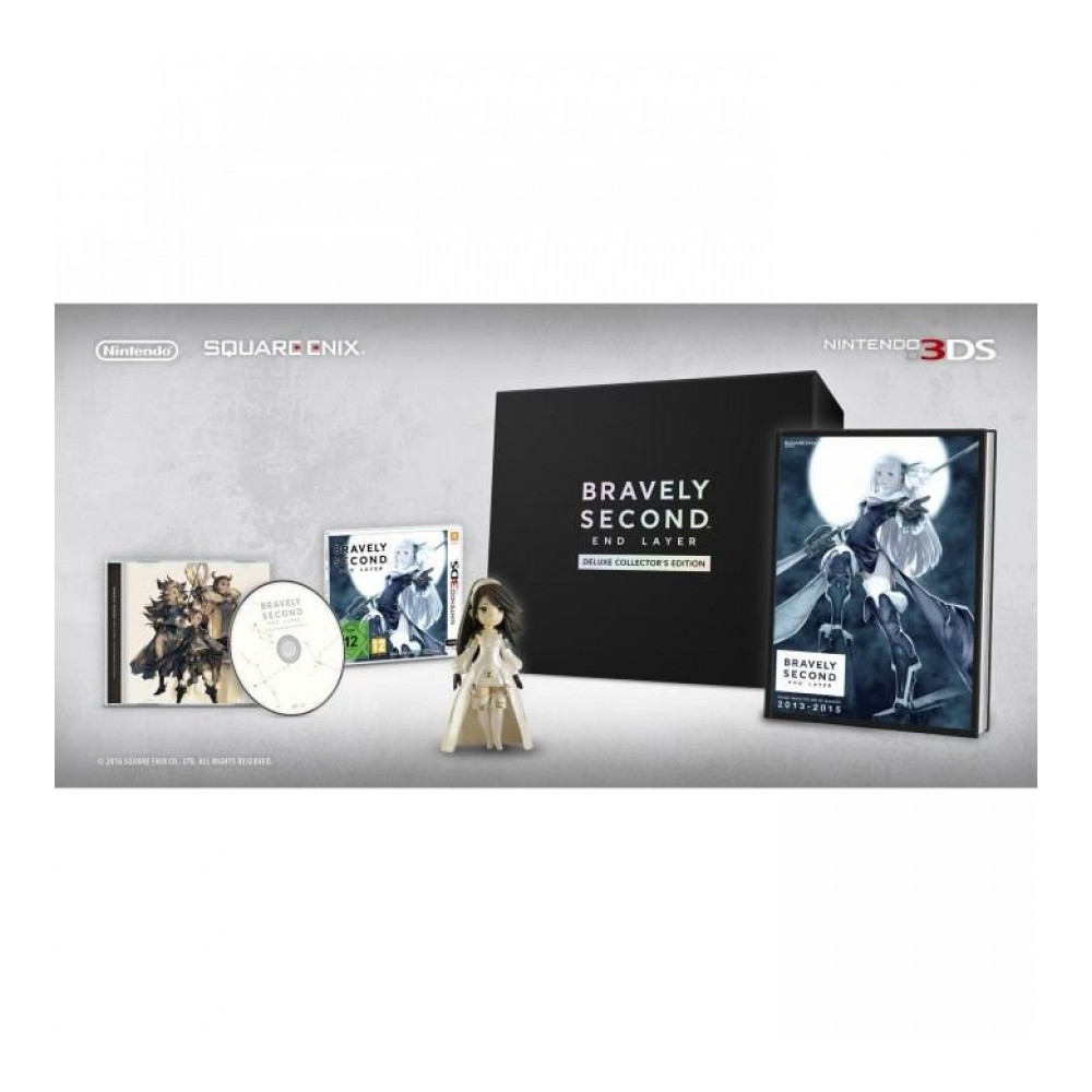 BRAVELY SECOND END LAYER COLLECTOR 3DS VF