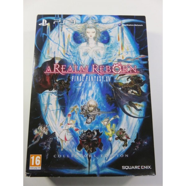 FINAL FANTASY IV ONLINE A REALM REBORN COLLECTOR EDITION PS3 PAL-FR OCCASION (COMPLETE-GOOD CONDITOIN) SQUARE ENIX