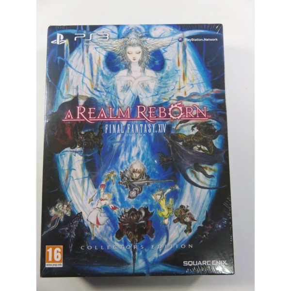 FINAL FANTASY IV ONLINE A REALM REBORN COLLECTOR EDITION PS3 PAL-FR BRAND NEW SQUARE ENIX