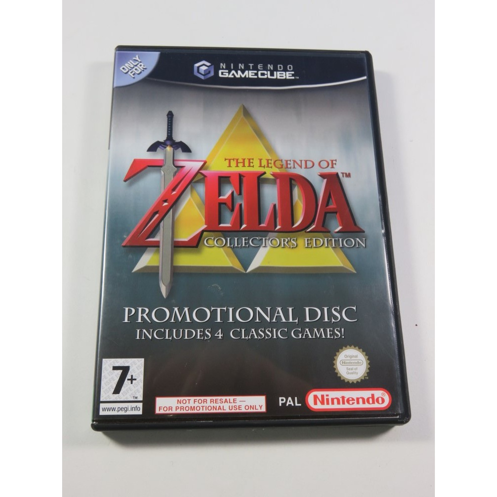 THE LEGEND OF ZELDA COLLECTOR S EDITION (PROMO DISC) GAMECUBE (GC) PAL-UK (COMPLET - GOOD CONDITION)