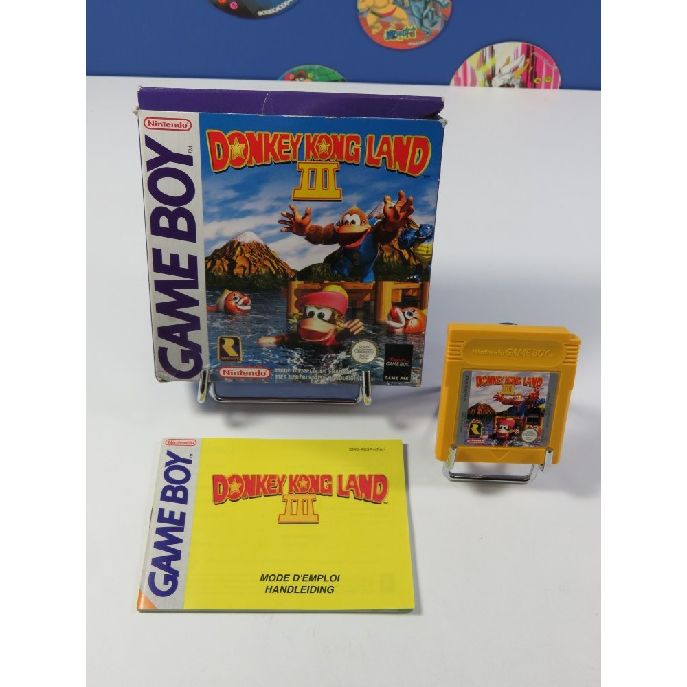 DONKEY KONG LAND III NINTENDO GAMEBOY (GB) NFAH (COMPLET - GOOD CONDITION)