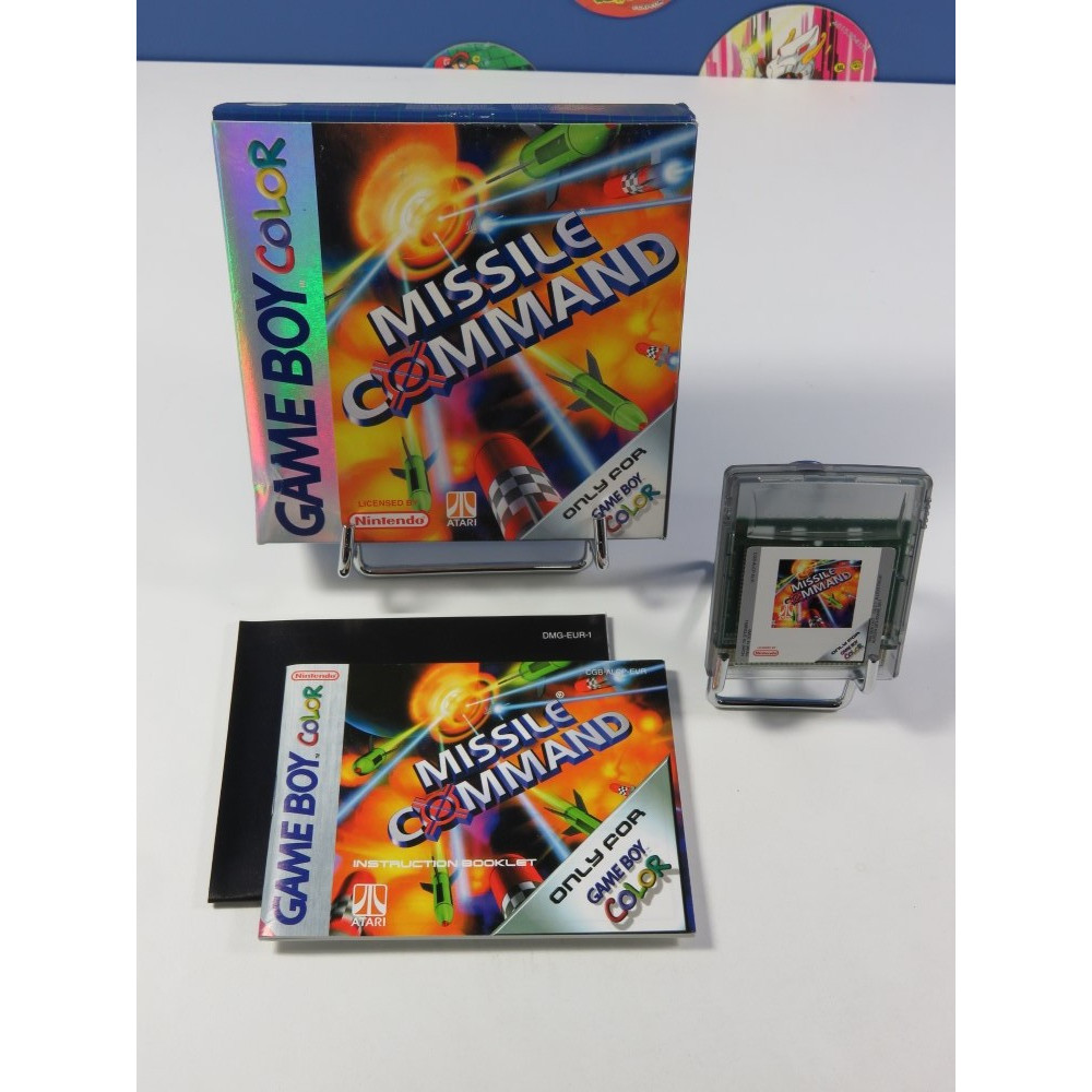 MISSILE COMMAND NINTENDO GAMEBOY COLOR EUR (COMPLET - VERY GOOD CONDITION)