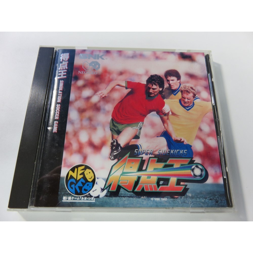 SUPER SIDEKICKS NEOGEO CD JPN OCCASION