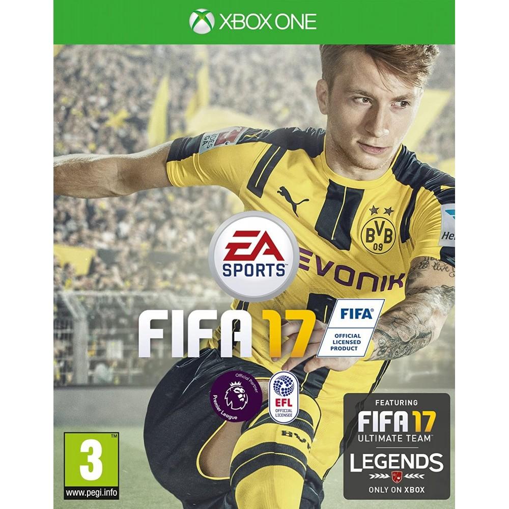 FIFA 17 XONE UK OCCASION