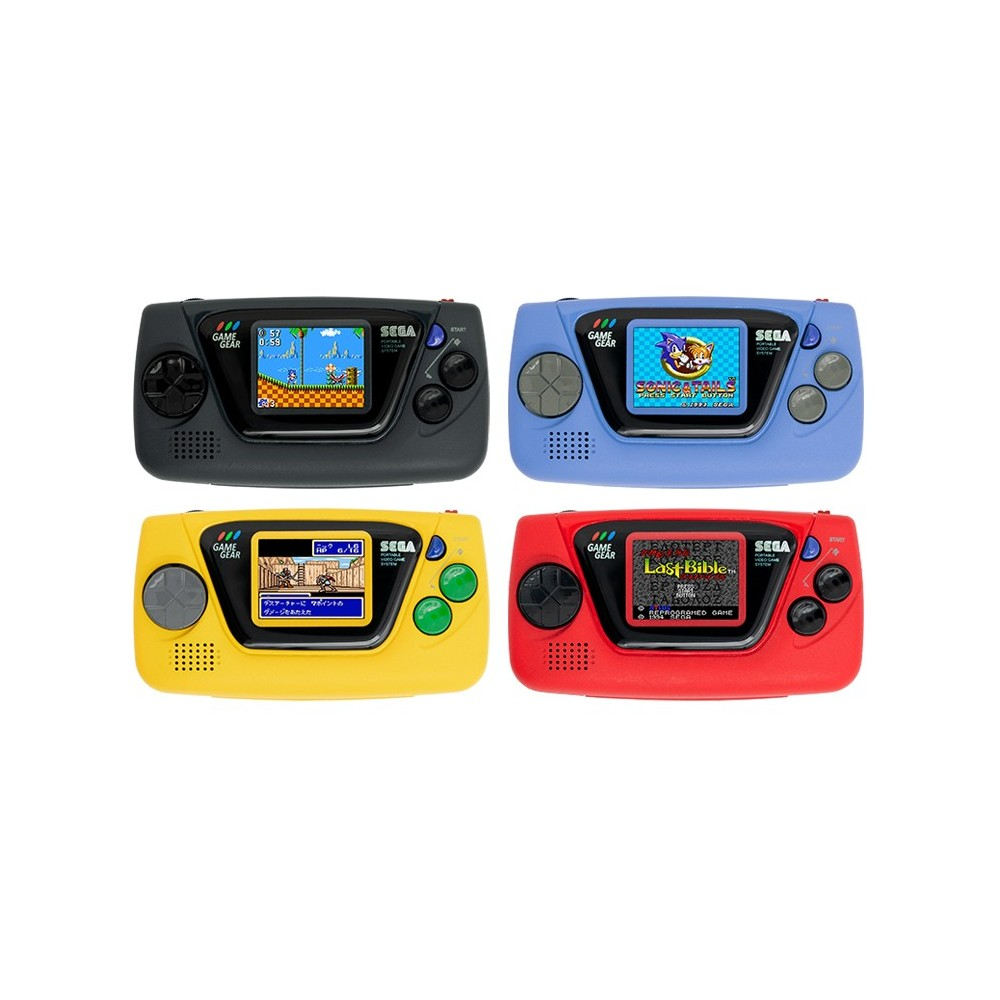 GAME GEAR MICRO 4 COLORS SET + BIG WINDOW - JAPANESE EDITION - Preorder