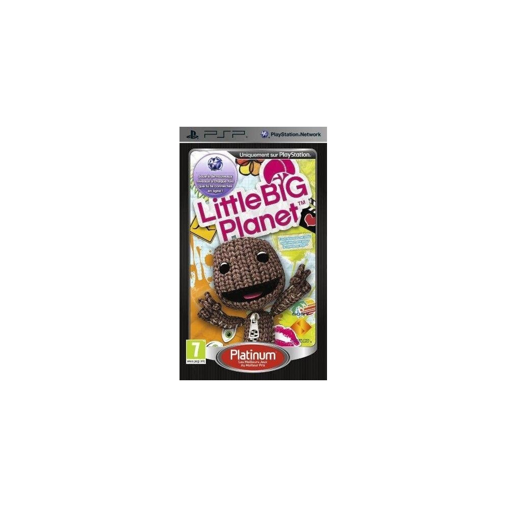 LITTLE BIG PLANET PLATINUM PSP FR OCCASION