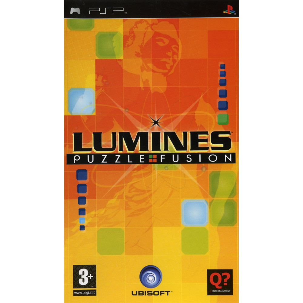 LUMINES PSP FR OCCASION