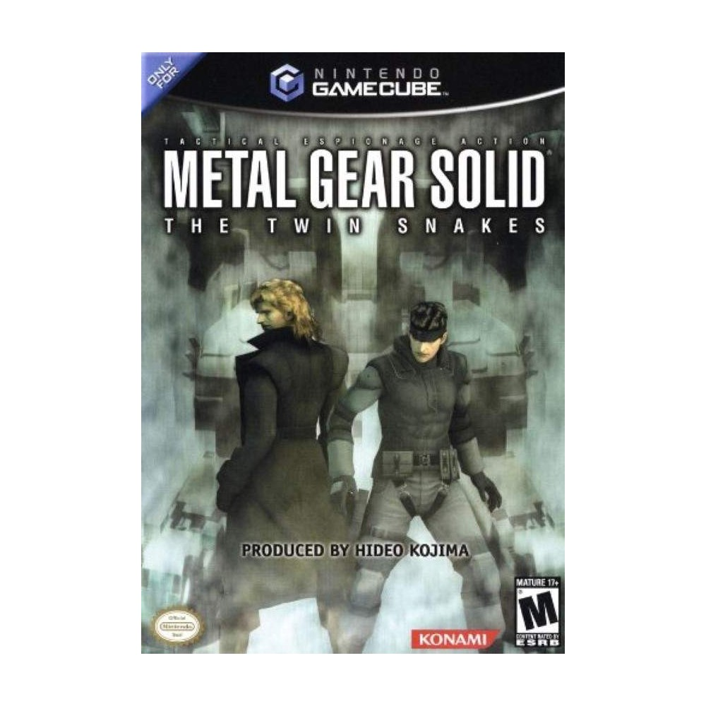 METAL GEAR SOLID : THE TWIN SNAKES GAMECUBE NTSC-USA OCCASION