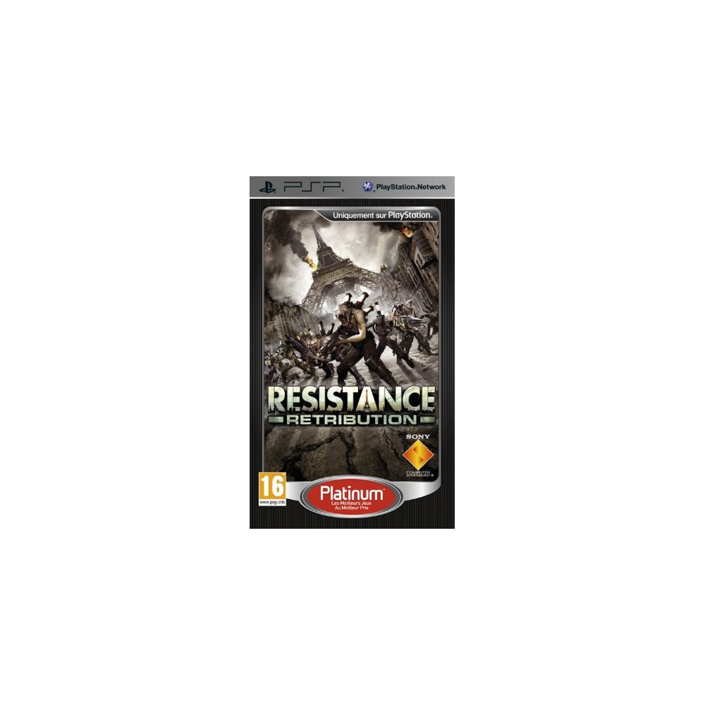 RESISTANCE RETRIBUTION PLATINUM PSP FR OCCASION