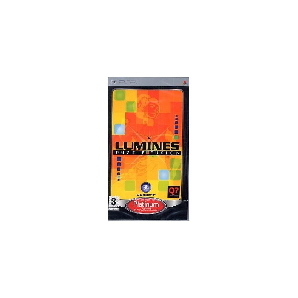 LUMINES PUZZLE FUSION PLATINUM PSP FR OCCASION