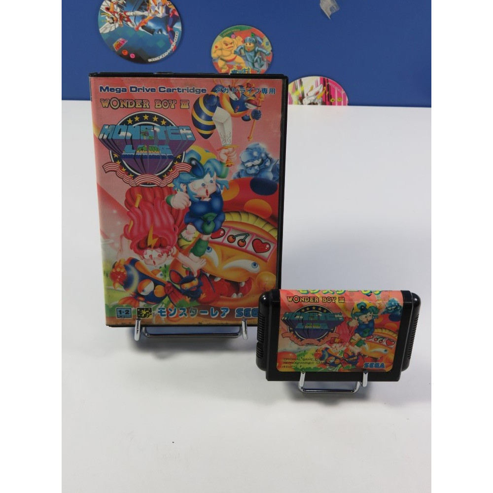 WONDER BOY III - MONSTER LAND SEGA MEGADRIVE NTSC-JPN (SANS NOTICE - GOOD CONDITION OVERALL)