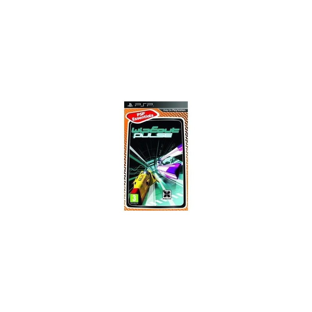 WIPEOUT PULSE PLATINUM PSP FR OCCASION