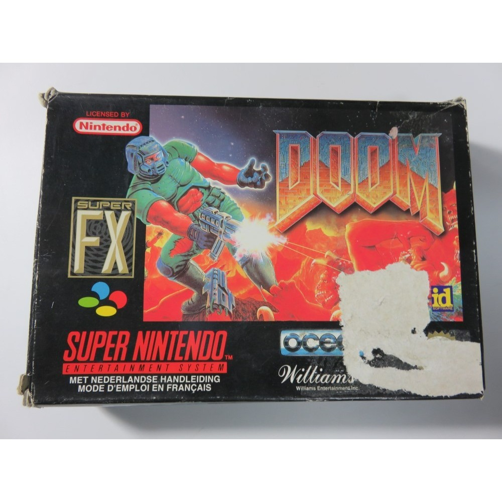 DOOM SNES PAL-FAH SANS NOTICE OCCASION
