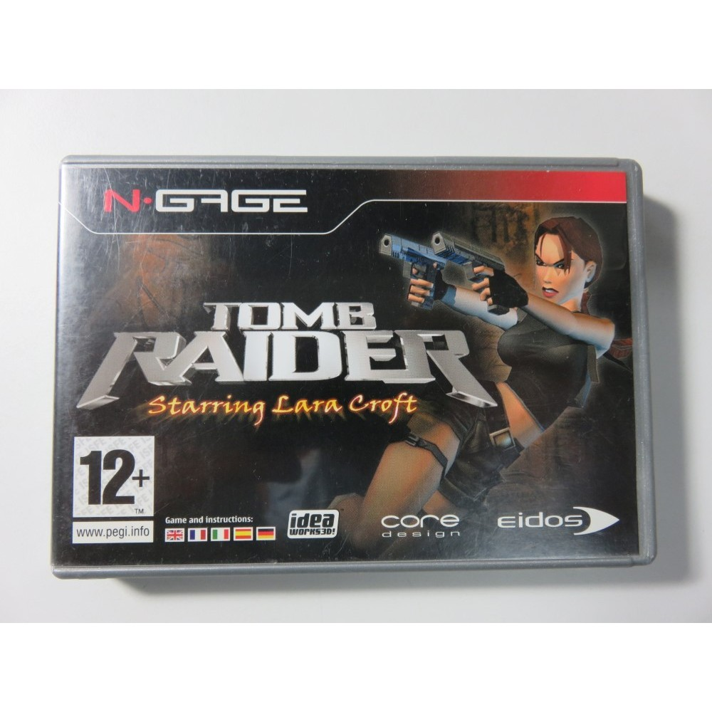 TOMB RAIDER STARRING LARA CROFT N-GAGE FR OCCASION