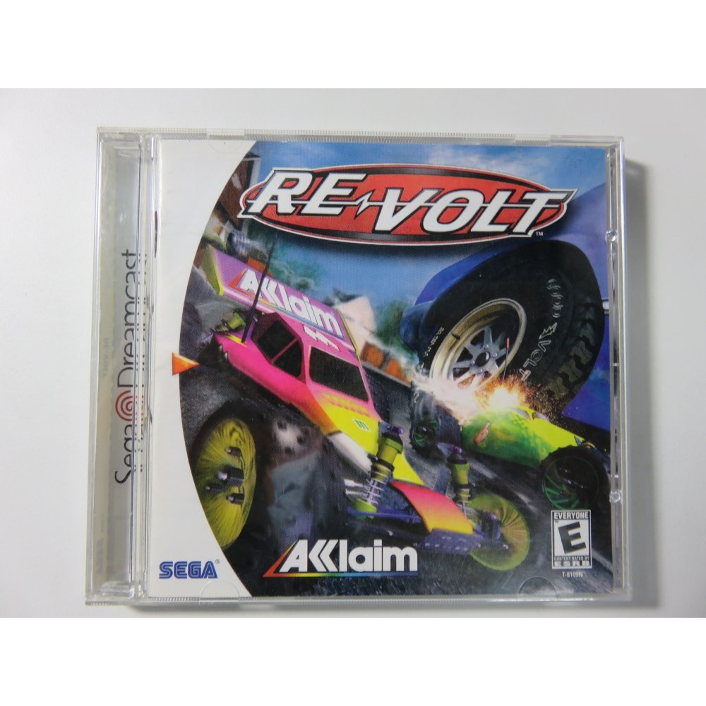 RE-VOLT DREAMCAST NTSC-USA (COMPLETE-GOOD CONDITION) ACCLAIM RACING 1999