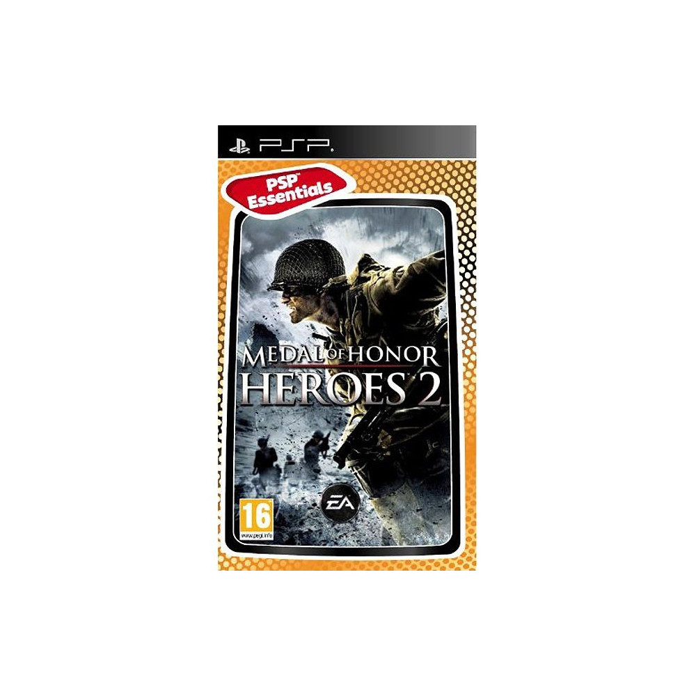 MEDAL OF HONOR HEROES 2 ESSENTIALS PSP FR OCCASION