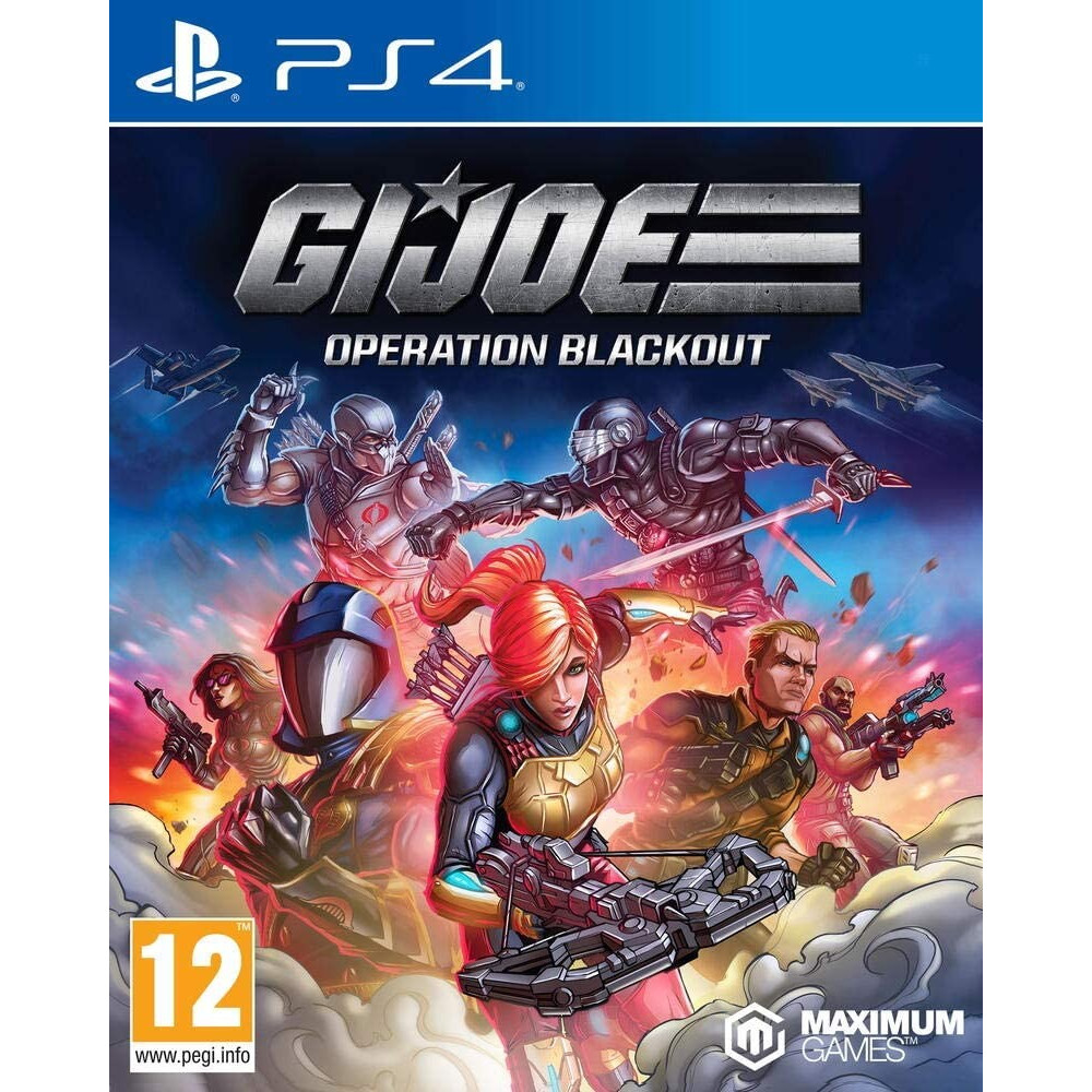 GI JOE OPERATION BLACKOUT - PS4 FR