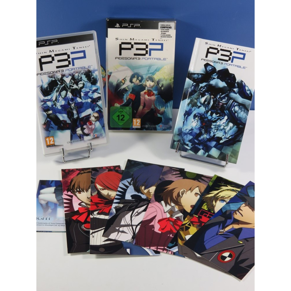 SHIN MEGAMI TENSEI PERSONA 3 P3P (EDITION COLLECTOR) SONY PSP FR (COMPLET - GOOD CONDITION)