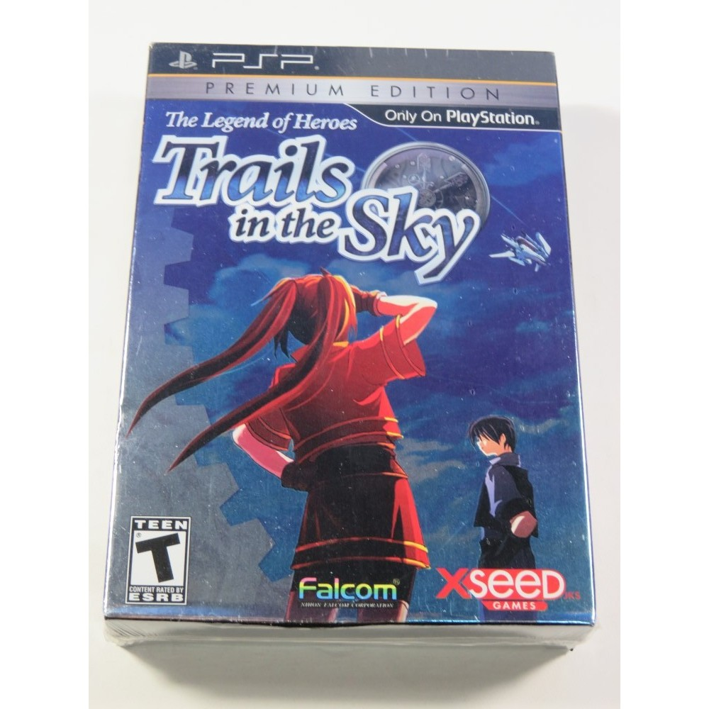THE LEGEND OF HEROES - TRAILS IN THE SKY PREMIUM EDITION SONY PSP USA NEUF - BRAND NEW (FALCOM RPG)