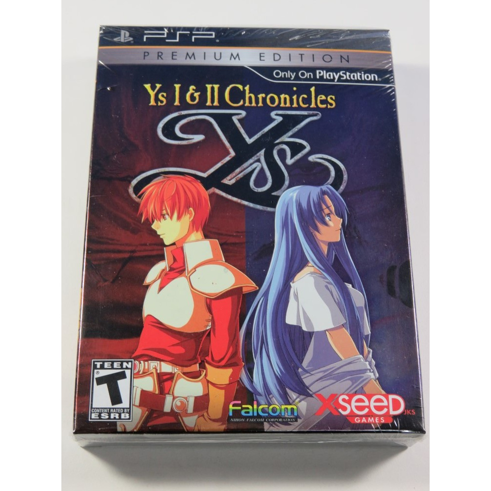 YS I & II CHRONICLES PREMIUM EDITION SONY PSP USA NEUF - BRAND NEW (FALCOM ACTION RPG)