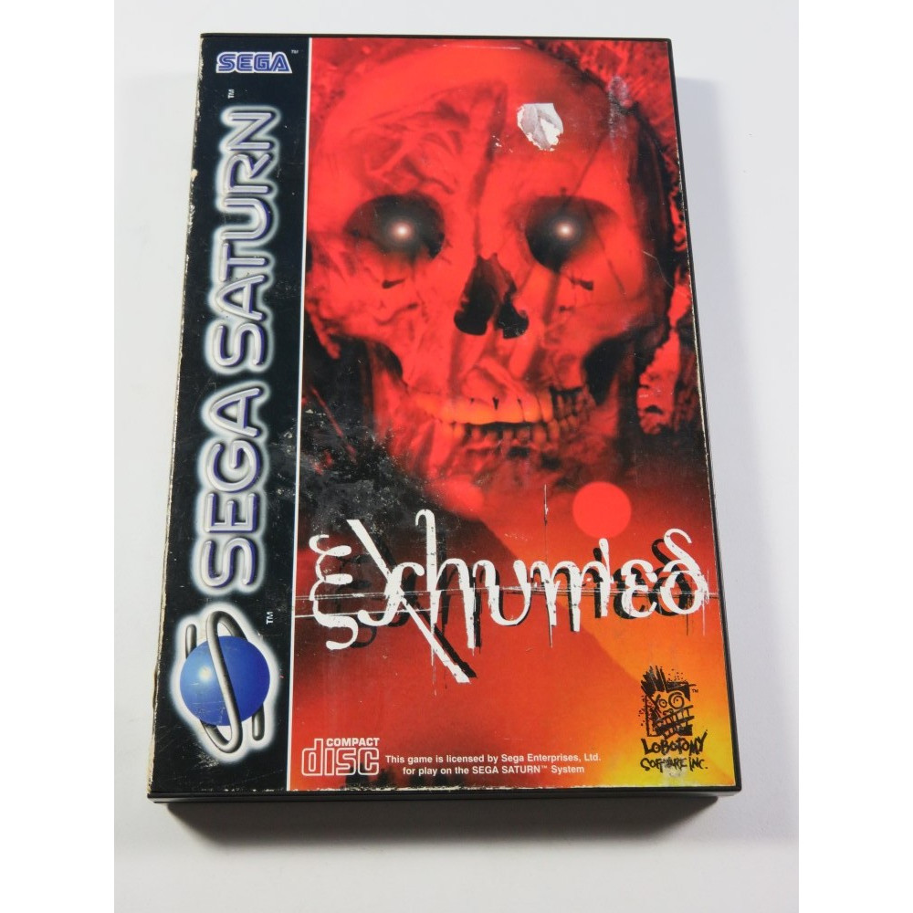 EXHUMED - POWER SLAVE - SEGA SATURN PAL-EURO (COMPLET - GOOD CONDITION)
