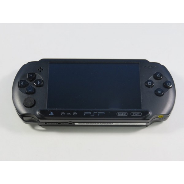 CONSOLE SONY PSP-E1004 STREET BLACK EURO (LOOSE - GOOD CONDITION) (SERIAL: AC8714214)