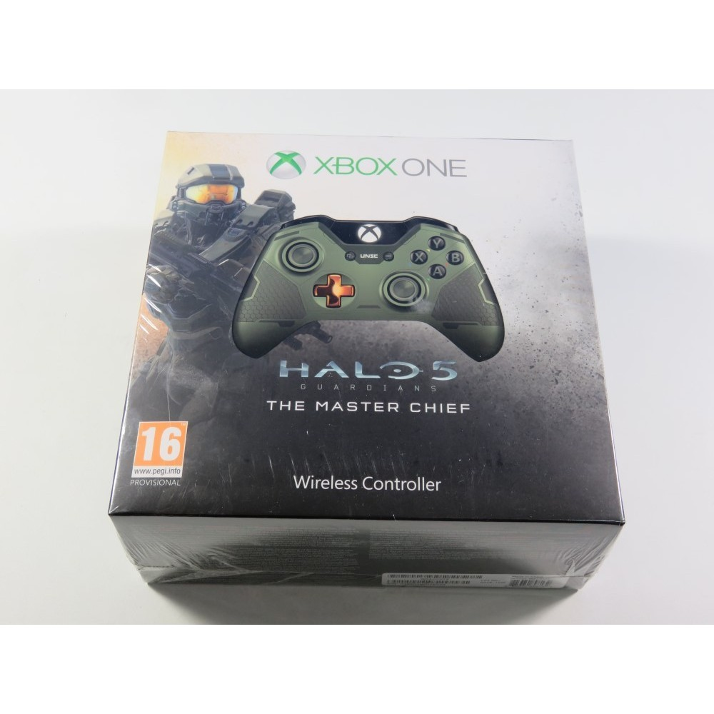 CONTROLLER - MANETTE WIRELESS HALO 5 GUARDIANS MASTER CHIEF LIMITED EDITION XBOX ONE EURO NEUF - BRAND NEW