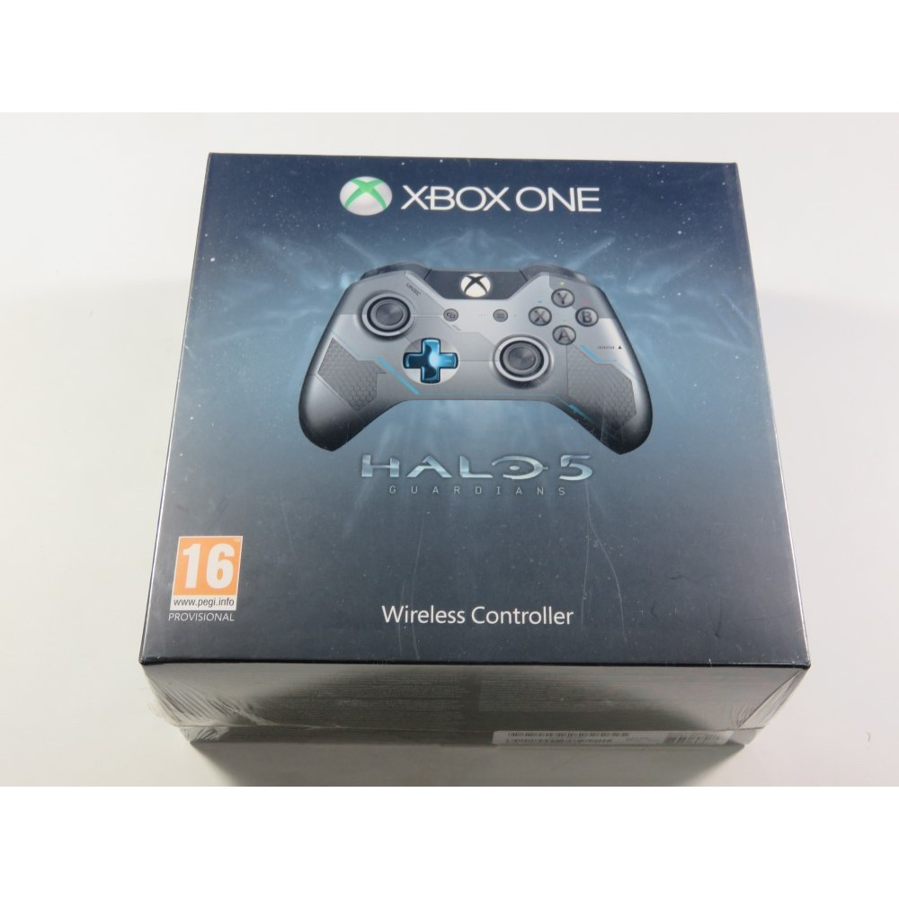 CONTROLLER - MANETTE WIRELESS HALO 5 GUARDIANS LIMITED EDITION MICROSOFT XBOX ONE EURO NEUF - BRAND NEW