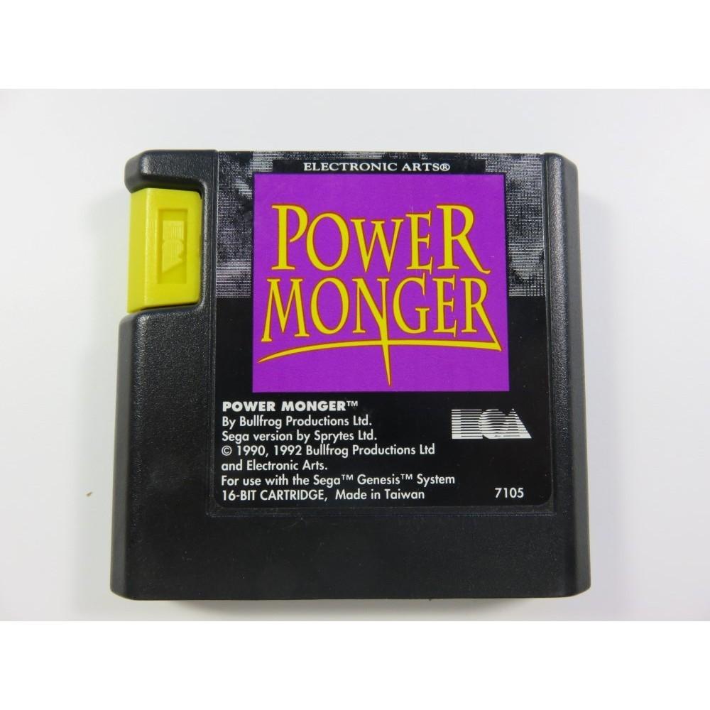 POWER MONGER GENESIS NTSC-USA LOOSE